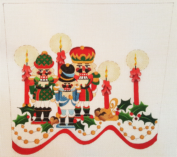 Welcome to Strictly Christmas Needlepoint Designs - Stocking Cuffs
