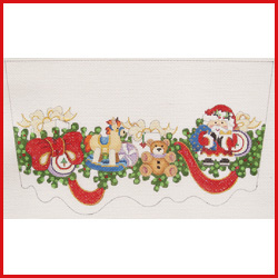 Fabulous Welcome To Strictly Christmas Needlepoint Designs Stocking Cuffs Easy Diy Christmas Decorations Tissureus
